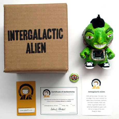 Intergalactic Alien Package