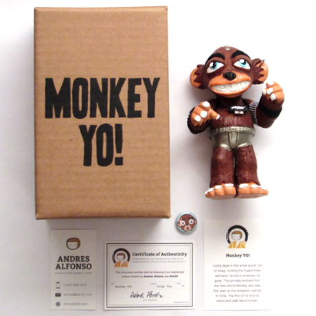 Monkey YO! Package